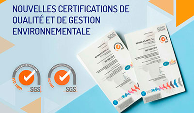 Reysan renouvelle ses certifications