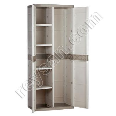 armoire resine balai