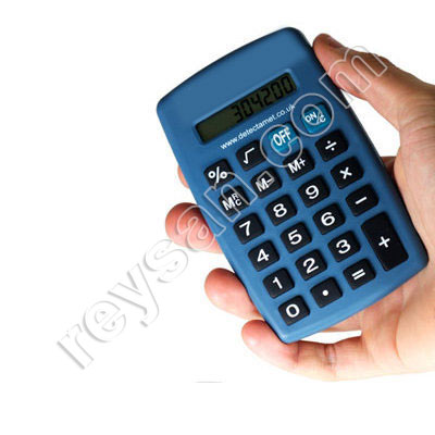 CALCULATRICE BLEU DETECTABLE