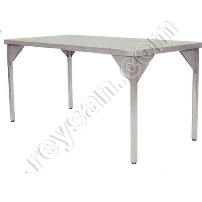TABLE CENTRALE INOX 40