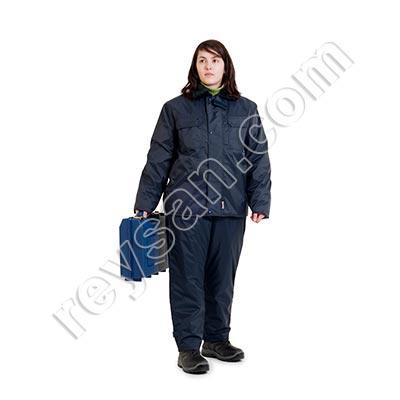 veste froid impermeable bleu reysan