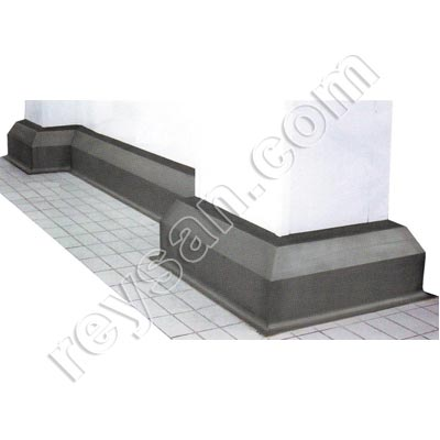 Protection murs inox brillant reysan for Protection mur cuisine inox