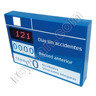 PANNEAU LED JOURS SANS ACCIDENTS